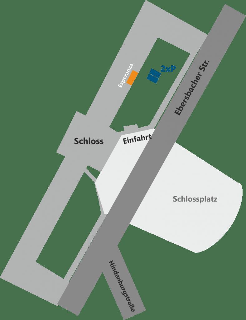Anfahrt Schloss Altshausen
